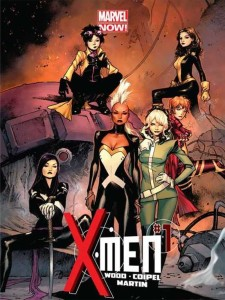 X-Men 1 Brian Wood Cover