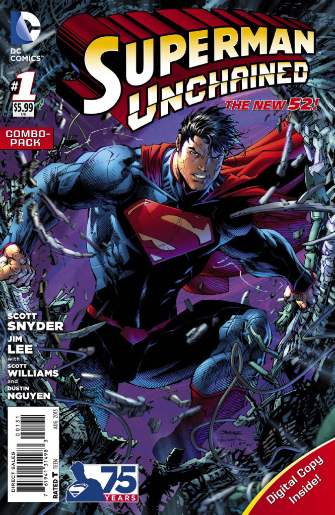 SupermanUnchainedCover