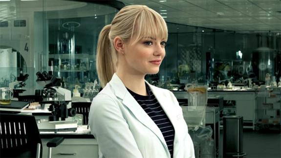 Gwen, as portrayed by Emma Stone.