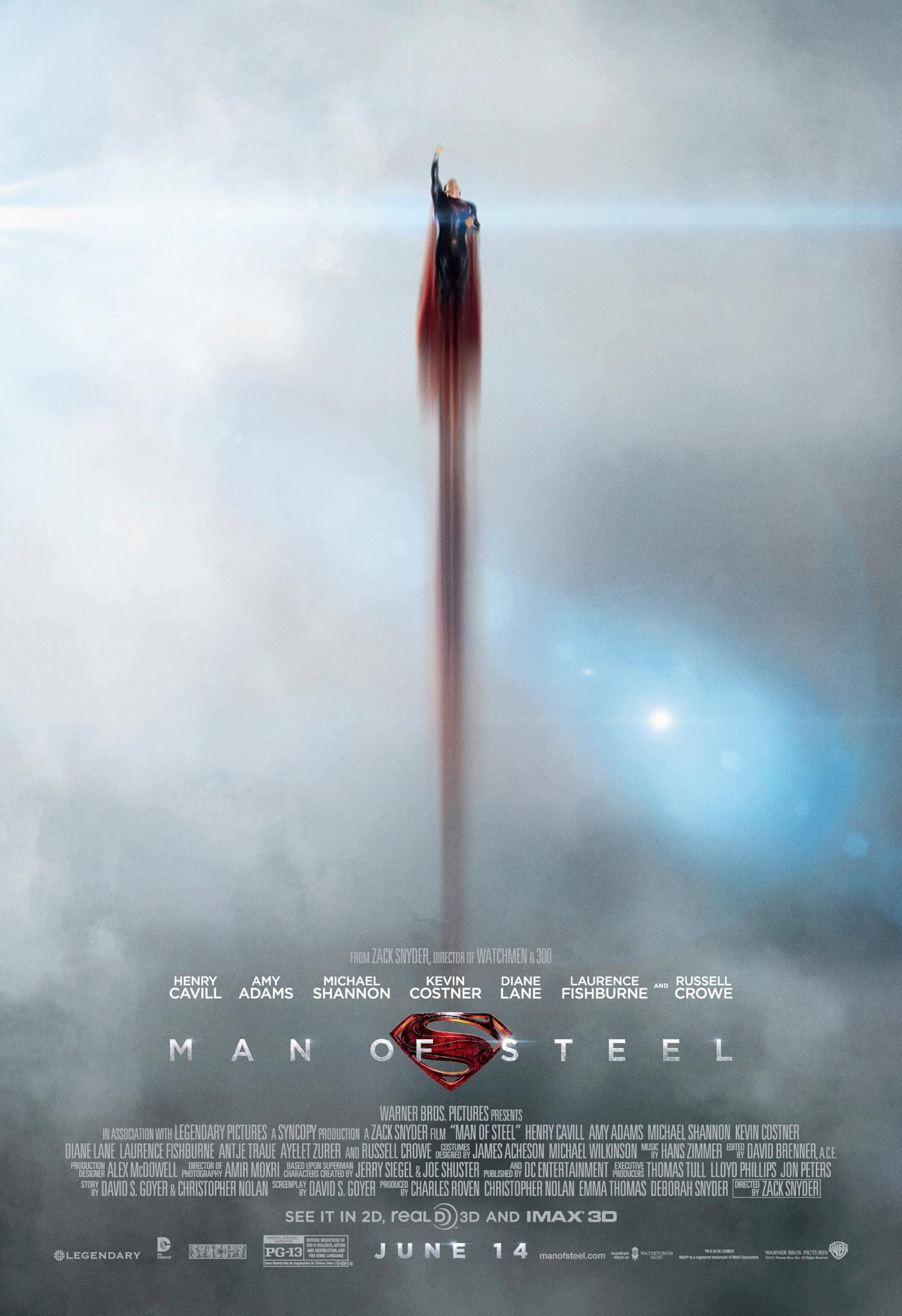 Movie Review: Man Of Steel | Panels And Pixels - Blogging ...