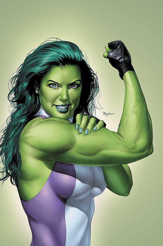 Should She-Hulk eventually replace Hulk in the Avengers movies?