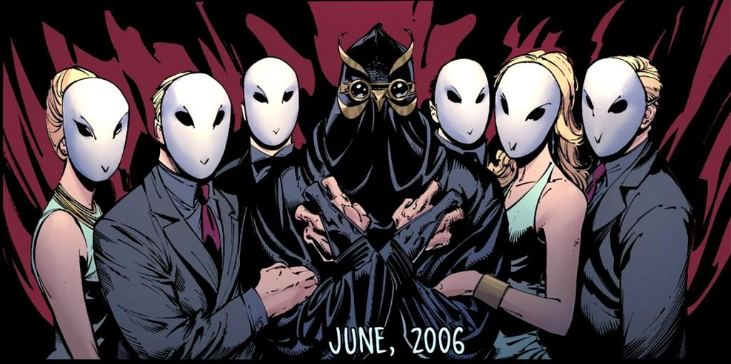 """Beware The Court of Owls, that watches all the time, ruling Gotham from a shadow perch, behind granite and lime..."""