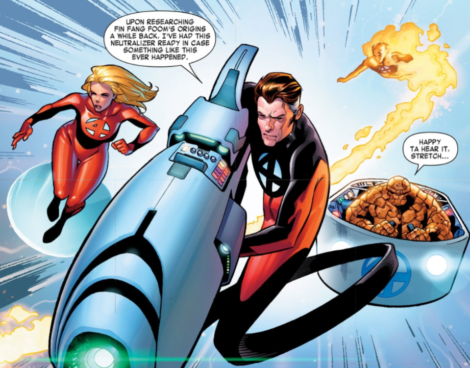 Fantastic Four 1 Screenshot