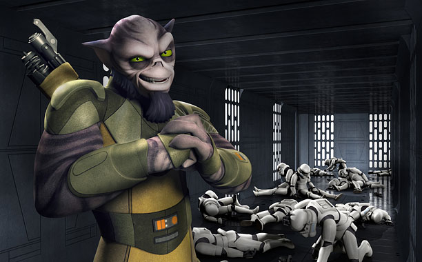 Star Wars Rebels Zeb