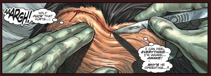 This is far, far from the most gruesome thing you'll see in the issue...