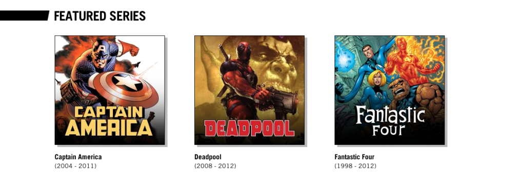 The selection of comics on Marvel Unlimited is incredibly diverse.