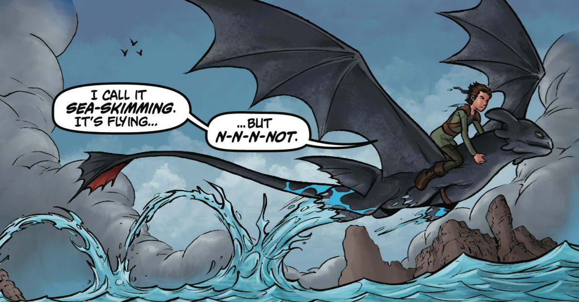 Hiccup and Toothless are back and they're just as funny as you remember.
