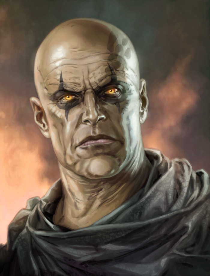 Darth Bane, the guy who made the dark side seem uncomfortably cool.