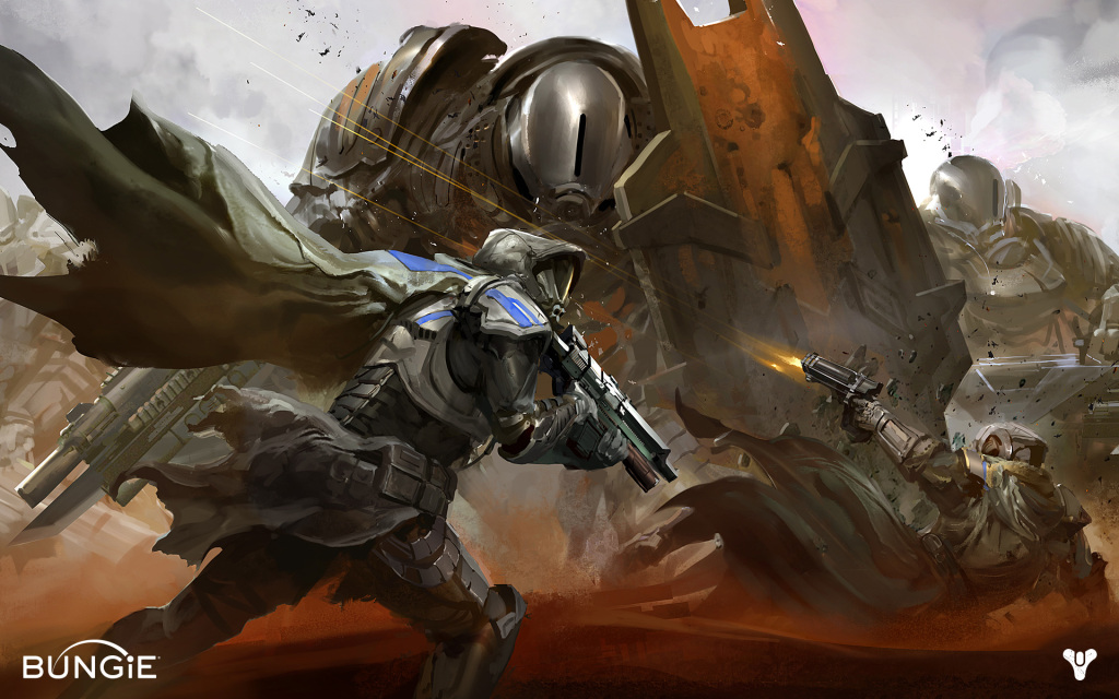 After being teased with gorgeous concept art for years, Destiny is just about to drop.