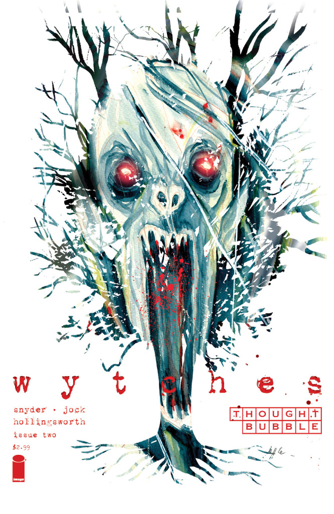 Last year it was Pretty Deadly, this year Wytches had a special Thought Bubble variant.