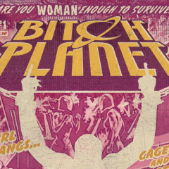 Comic Review: Bitch Planet #1
