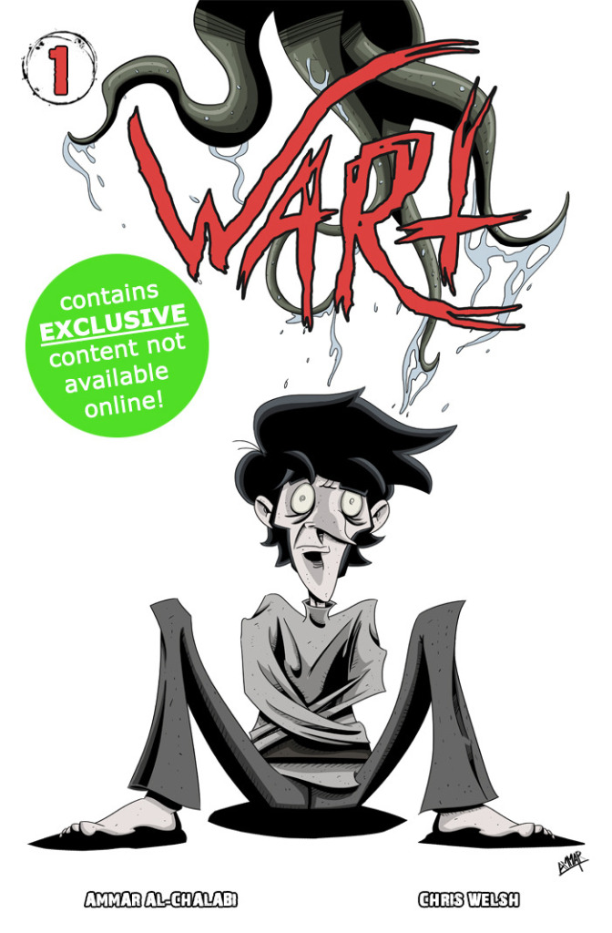 WART is available to read online now, but the print release will have bonus content.