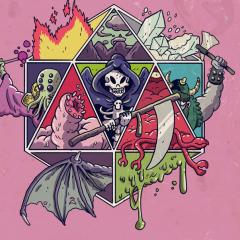Comics On Kickstarter: Death Saves: Fallen Heroes of the Kitchen Table