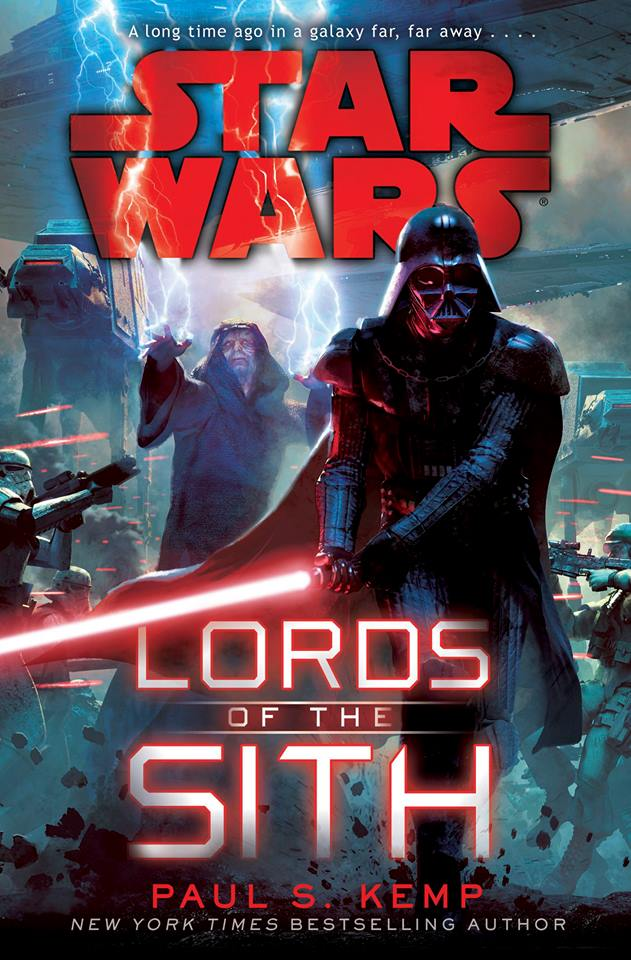 Lords of the Sith has some great cover art but with AT-ATs stomping into hectic battlefields it's more than a little misleading.