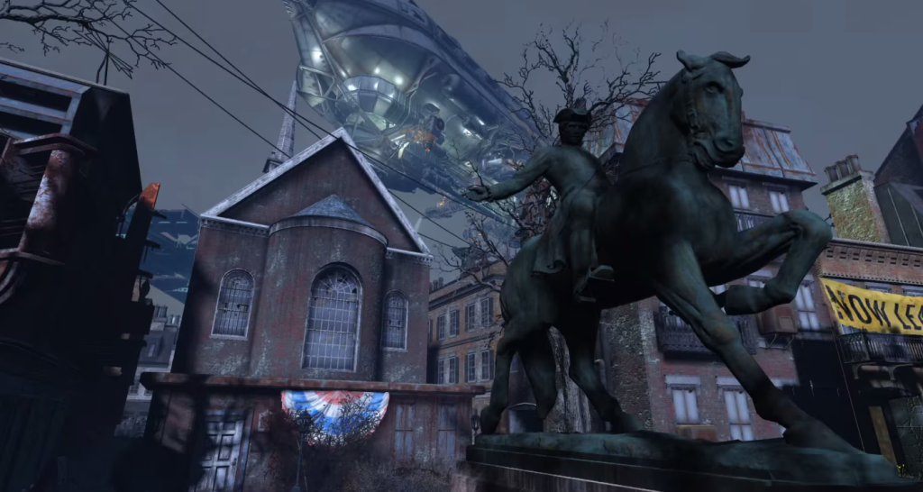 Remember when we all heard Fallout 4 was in Boston? Well, that does look like Boston...