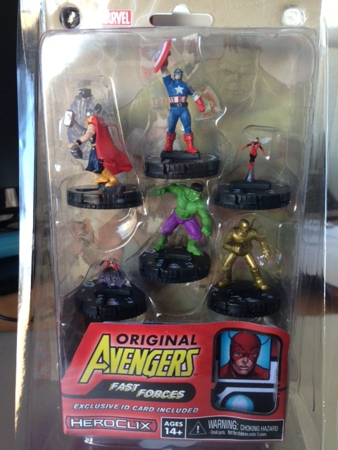Here's what the set looks like, sure Cap wasn't a founding member but I agree he's far too iconic to leave out of the set.
