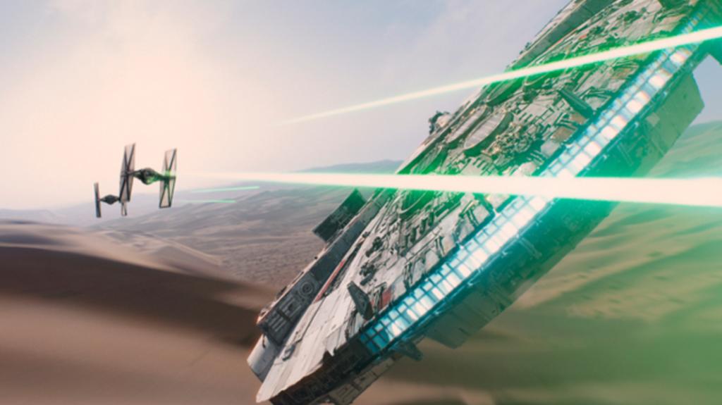 Star Wars TFA Shot