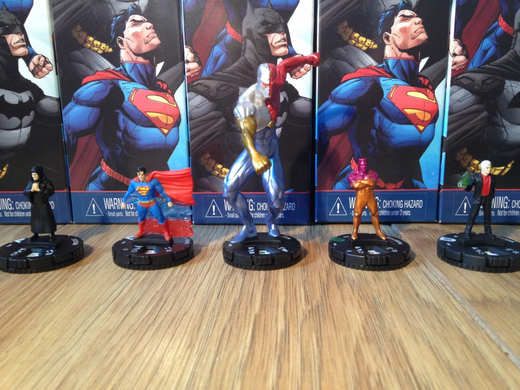 Occultist, Superman, Alloy, Major Force, Warlock