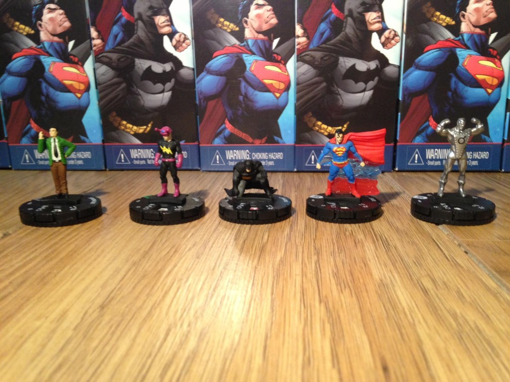 Doc Magnus, Mento, Batman, Superman, Iron